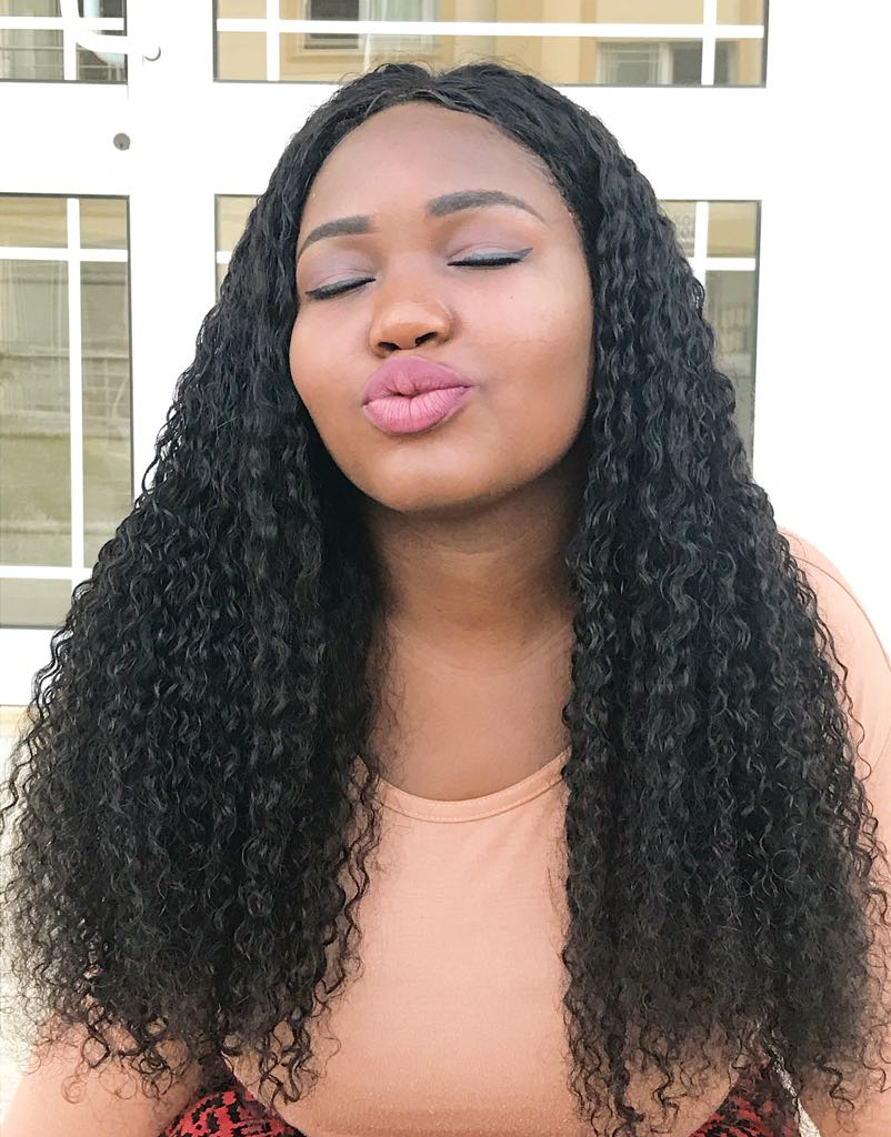 Deep Curly Human Hair Lace Wig